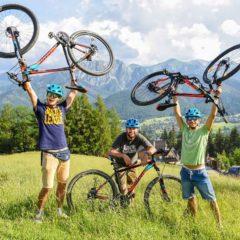 Na rowerze przez Zakopane